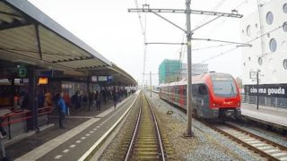 4K Cab Ride NL Gouda Goverwelle – Den Haag CS (Incl. Shunt Tracks) / SPR 6842 / 15-11-2017