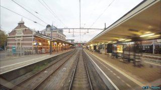 CABVIEW NL 4K Hoogkarspel – Hoorn – Schiphol – Hoofddorp Opstel (Empty Train) 23-10-2017