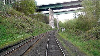 Führerstands-Mitfahrt : Eichenberg — Kassel Hauptbahnhof