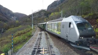 Train Driver's View: Flåm – Myrdal (Trains meet at Berekvam)