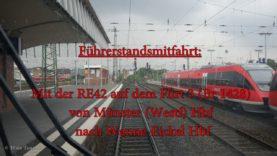 4K | Führerstandsmitfahrt auf der RE42 von Münster (Westf) Hbf nach Mönchengladbach Hbf [Teil 1]
