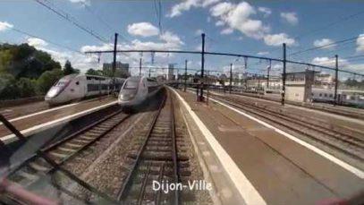 Voyage en cabine: Sur la PLM, de Dijon à Tonnerre (120 kms !)