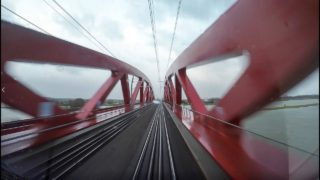 4K Cab Ride NL Zwolle – Harderwijk – Amersfoort / Stormy weather! / SPR 5628 / 18-01-2018