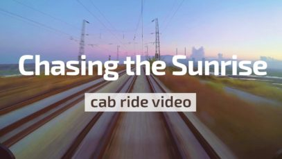Cab Ride Bulgaria – Chasing the Sunrise 🌄 Varna – Dalgopol (BDZ 46 219 & train 3637)