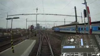 Cabview: Brno hl.n. – Křenovice h.n. (Panter) – trať + displej