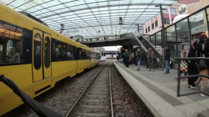 Führerstandsmitfahrt Stadtbahn Stuttgart Linie U1