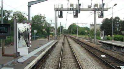 Ligne B du RER. Cabine d'un MI79 De Paris Nord à St Rémy les Chevreuses partie 3