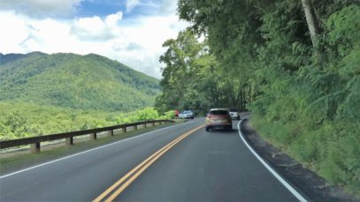 Mountain Driving – America's Most Visited Park 4K – USA
