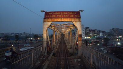 Train Driver record YB3 Hanoi – Yen Bai (2017)