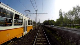 14-es villamos: Megyeri út – Lehel tér (4K)