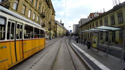 41-es villamos: Bécsi út – Kamaraerdő (4K)