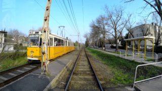 41-es villamos: Kamaraerdő – Bécsi út (4K)