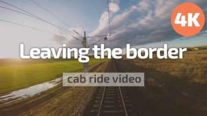 4K Cab Ride Bulgaria – Leaving the Turkish border zone – (Svilengrad – Dimitrovgrad) BDZ 44 002