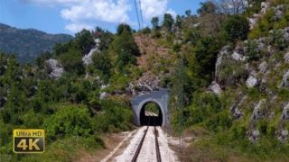 4K CABVIEW Podgorica – Niksic — Montenegro Railways — Pruga Podgorica – Nikšić