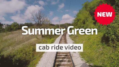 Cab Ride Bulgaria – Summer Green (Pernik – Sofia) BDZ 44 002