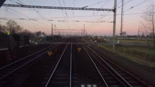 Pohled strojvedoucího z kabiny vlaku: Polanka n. Odrou – Petrovice u Karviné (QHD 2K7 reálný čas)