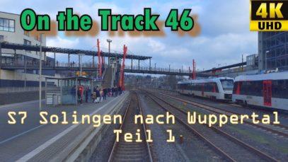 S7 Solingen -Wuppertal Teil1, 4K,OTon, Ansagen