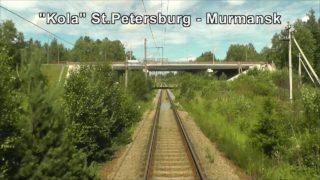 Train Driver's View: Nevskaya Dubrovka – Saint Petersburg Part 1 ( Cab ride view )
