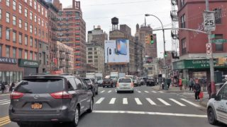 Driving Downtown 4K – NYC's Chinatown – New York City USA