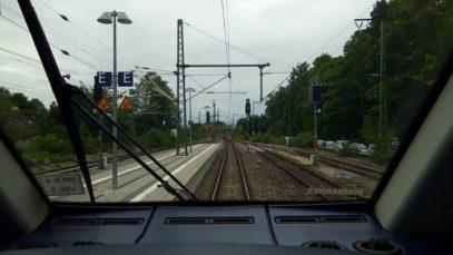 Führerstandsfahrt ET 2442 RB Tutzing – Kochel (MTZ-MKCH) Juli 2017