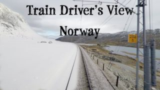 Train Driver's View: Changing Seasons on the Bergen Line