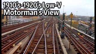 Motorman's Point of View – 1910s Low-V from Grand Central to Woodlawn and Back