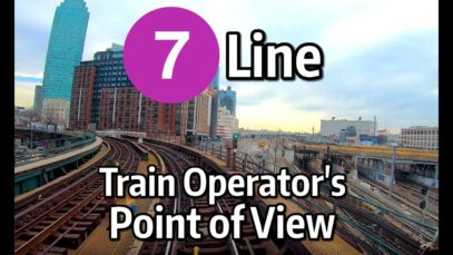 NYC Subway Train Operator's Point of View – The Queens-Bound 7 Local Line