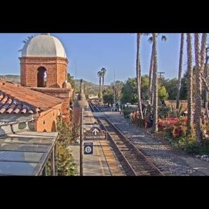 San Juan Capistrano, California - Virtual Railfan LIVE (DEMO)