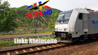 Führerstandsmitfahrt Linke Rheinstrecke Bingen am Rhein nach Koblenz über Bacharach ,Oberwesel
