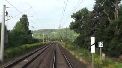 Führerstandsfahrt: Großkorbetha – Weißenfels – Naumburg – Apolda – Weimar (August 2013)