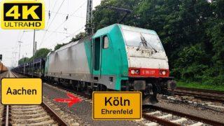 Führerstandsmitfahrt Aachen West nach Köln Ehrenfeld über Stolberg,Eschweiler,Düren,Horrem