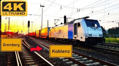 Führerstandsmitfahrt Abzw Gremberg nach Koblenz über Troisdorf,Linz,Unkel,Neuwied