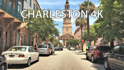 Driving Downtown – Charleston 4K – South Carolina USA