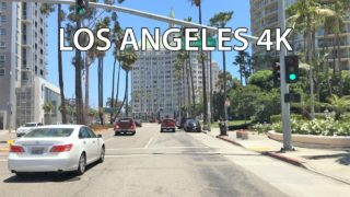 Driving Downtown – Long Beach 4K – USA