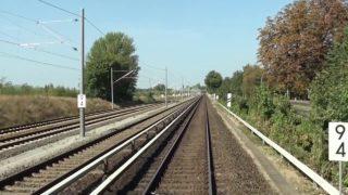Führerstandsmitfahrt S-Bahn Berlin S 9 Flughafen Schönefeld – Spandau
