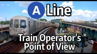 NYC Subway Train Operator's Point of View – The A Express to Rockaway Park