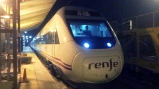 Rail View T Tren ALVIA de Pamplona a Barcelona 2014