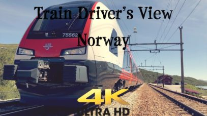Train Driver's View: From Ål to Voss with the Stadler FLIRT Class 75B