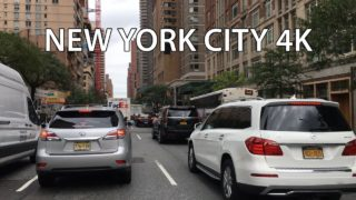 Drive 4K – Rich Upper East Side – New York City USA