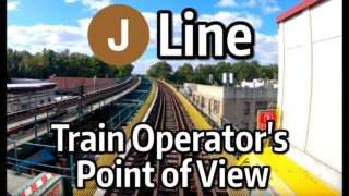 NYC Subway Train Operator's Point of View – The J Line to Broad Street