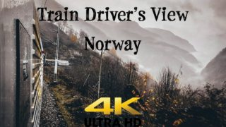 Train Driver's View: Up and down in the foggy Flåm valley