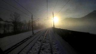 Christmas Special – Wintery Cab Ride Kitzbühel – Saalfelden | Führerstandsmitfahrt Giselabahn