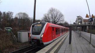 Führerstandsmitfahrt BR490 S-Bahn Hamburg S21 Aumühle – Elbgaustraße [12/2018]