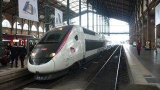 Cab ride TGV Duplex entre Gare du Nord et Lille Flandres