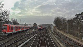 Führerstandsmitfahrt BR474 S-Bahn Hamburg S1 Airport – Blankenese [02/2019]