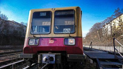 Führerstandsmitfahrt BR485 S-Bahn Berlin S47 Hermannstraße – Spindlersfeld – Hermannstraße [02/2019]