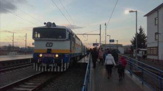 POHLED Z LOKOMOTIVY: Sp 1436 Pernštejn (Brno-Dolní nádraží – Žďár nad Sázavou, traťe 250/251)
