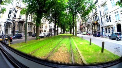 The Brussels Tram Route 3 – Whole Tramline
