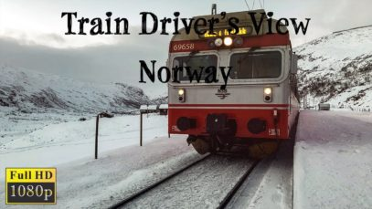 Train Driver's View: Voss – Ål the swan song of the Class 69