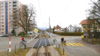 Cab ride Luzern – Wolhusen – Langenthal – Basel, Switzerland